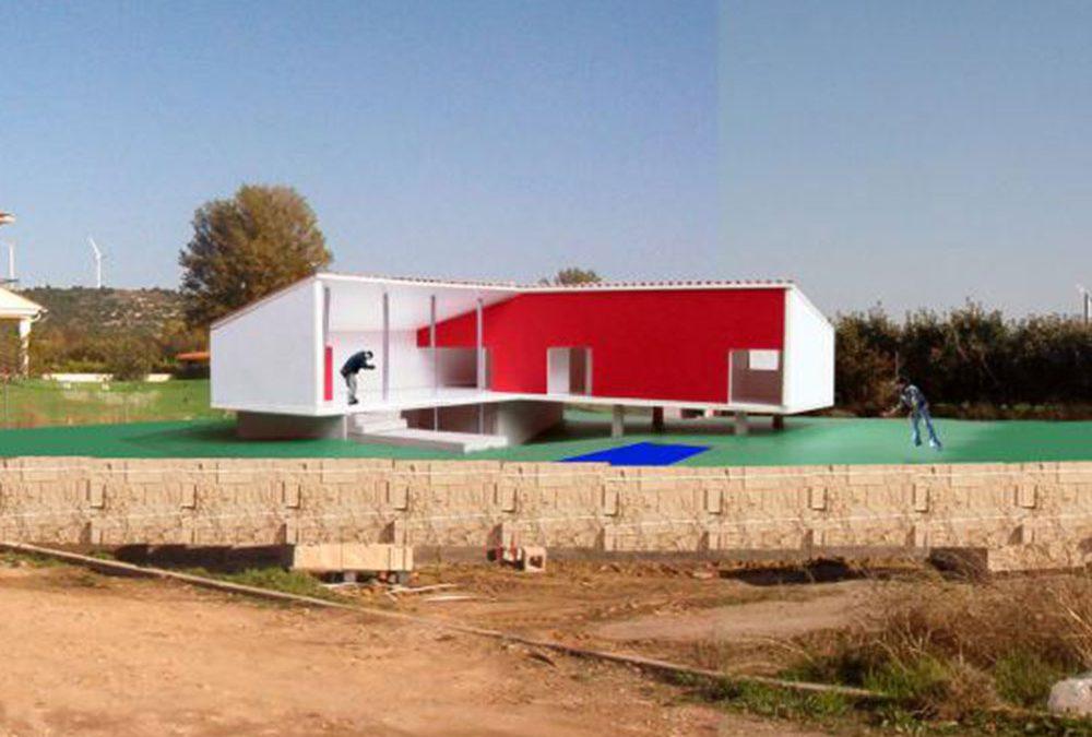 Casa sobre pilotes Palencia